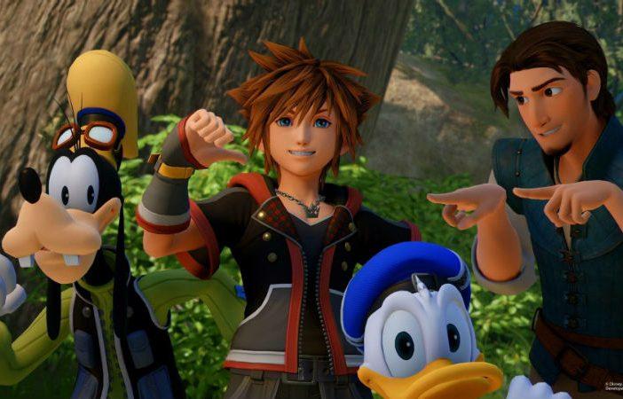 Kingdom Hearts 3 header