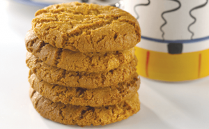 Condensed Milk and Ginger Biscuits