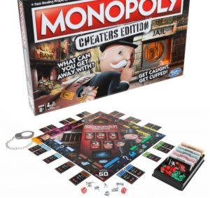 Monopoly Game: Cheaters Edition