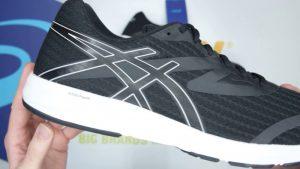 Asics Mens Amplica Running Shoes in Black
