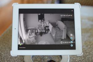 tablet baby camera